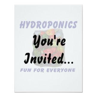 Hydroponics Fun Hot Pepper Pile Canvas Filter 11 Cm X 14 Cm Invitation Card