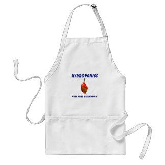 Hydroponics Fun Single Habanero Pepper Design Adult Apron