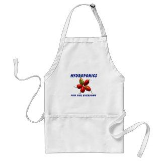 Hydroponics Fun Star Habanero Pepper Design Adult Apron