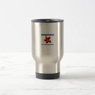 Hydroponics Fun Star Habanero Pepper Design Coffee Mugs