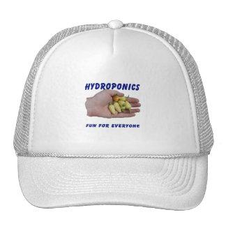 Hydroponics Fun White Habanero Peppers Hand Hats