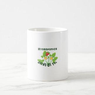 Hydroponics Grows On You Strawberries Coffee Mugs