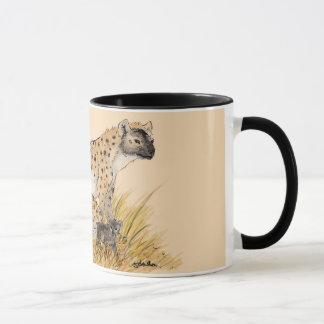 Hyena Family Mug