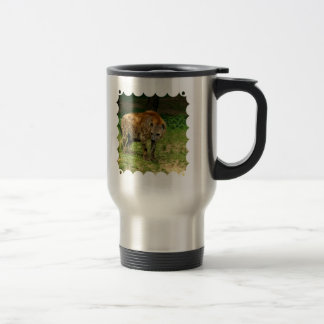 Hyena Prowl Stainless Travel Mug