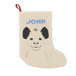 hyena small christmas stocking