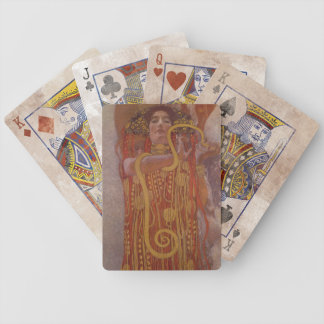 Hygeia by Gustav Klimt Bicycle Playing Cards