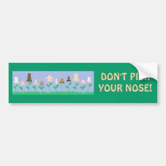 Hygiene Message Bumper Sticker