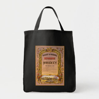 Hygienic Whiskey: 1860 - Grocery Tote #1 Grocery Tote Bag