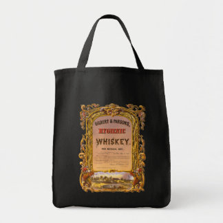 Hygienic Whiskey: 1860 - Grocery Tote #2 Grocery Tote Bag