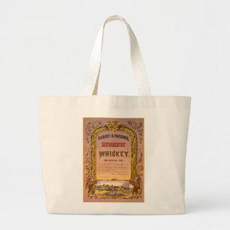 Hygienic Whiskey: 1860 - Jumbo Tote #1 Jumbo Tote Bag