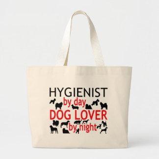 Hygienist Dog Lover Large Tote Bag