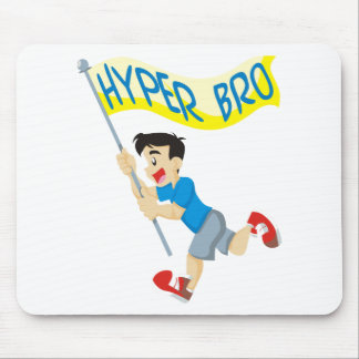 Hyper Brother Running Mouse Pad