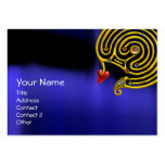 HYPER LABYRINTH ,Gold Jewel ,black red yellow blue Pack Of Chubby Business Cards