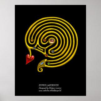 HYPER LABYRINTH PRINT