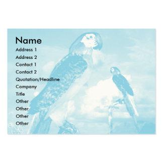 HYPER PARROTS / BLUE ARA BUSINESS CARD