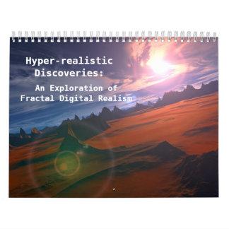 Hyper-realistic Discoveries (Standard) Calendars