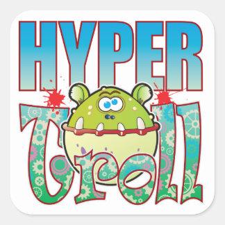 Hyper Troll Square Sticker