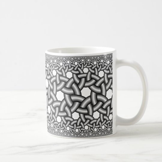 Hyperbolic ribbons 237 coffee mug