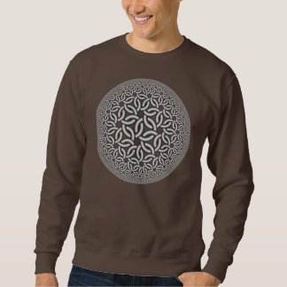 hyperbolic weave sweatshirt