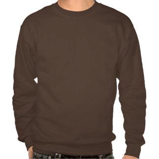 hyperbolic weave pull over sweatshirt