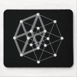 hypercube dark mousepad
