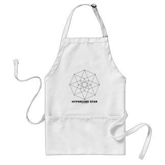 Hypercube Star (Math and Geometry) Standard Apron