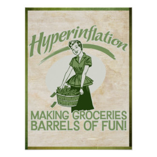 Hyperinflation Print