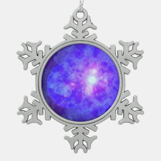 Hyperion Pewter Snowflake Decoration