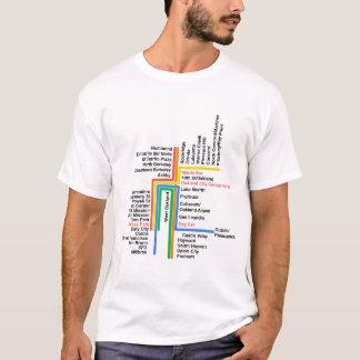 hyperlinear BART for white t T-Shirt