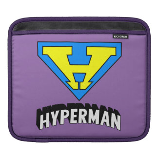 HYPERMAN logo iPad Sleeve