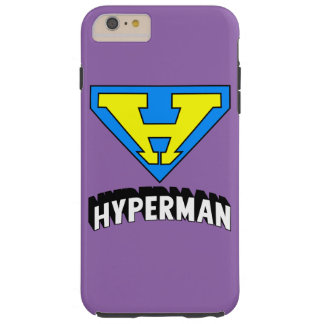 Hyperman logo tough iPhone 6 plus case