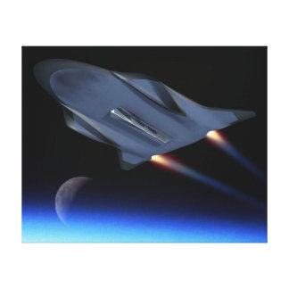 Hypersonic Cruise Vehicle Stretched Canvas Print