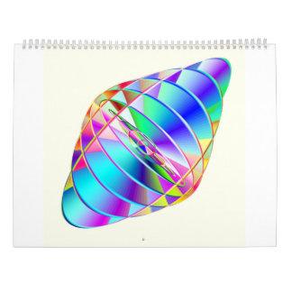 Hyperspatial Flux Capacitor 2017 Calendar