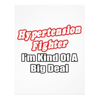 Hypertension Fighter...Big Deal 21.5 Cm X 28 Cm Flyer