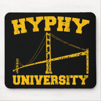 Hyphy University yay area Mouse Mat