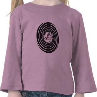 Hypno-Cat Tee Shirts