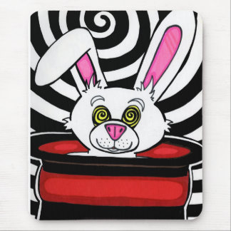 Hypno Rabbit Mouse Mat