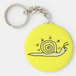 Hypno Snail Keychain