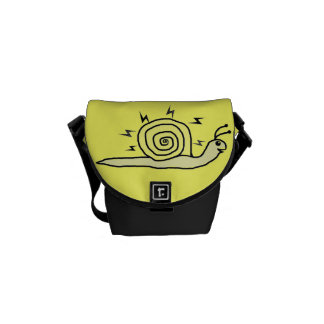 Hypno Snail Rickshaw Mini Zero Messenger Bag