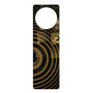Hypnosis Abstract Art Door Hanger