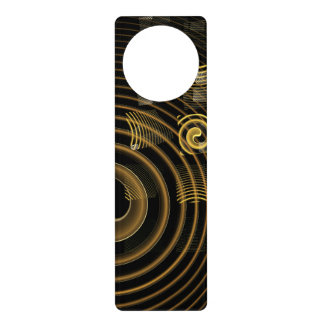 Hypnosis Abstract Art Door Knob Hangers