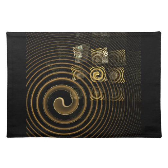 Hypnosis Abstract Art Placemat