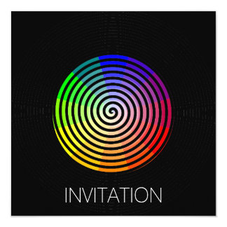 Hypnosis Cool Party Invitation Suprise