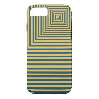 Hypnosis Meditation Focal Point Blue and yellow iPhone 8/7 Case