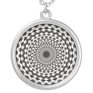 Hypnosis Silver Plated Necklace