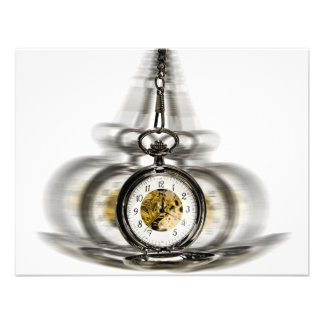 Hypnosis Spinning Clock Personalized Invite