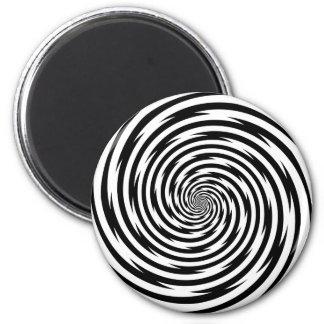 Hypnosis Spiral 6 Cm Round Magnet