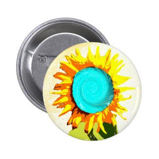 Hypnosis Sunflower Pin