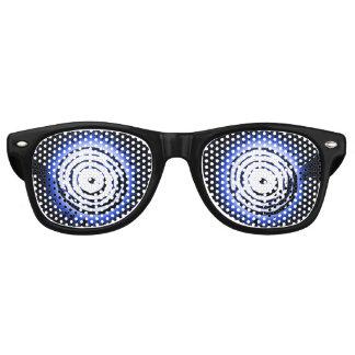 Hypnotic Blue Suns Retro Sunglasses