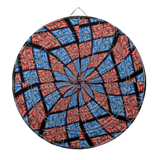 Hypnotic Bullseye Dartboard With Darts